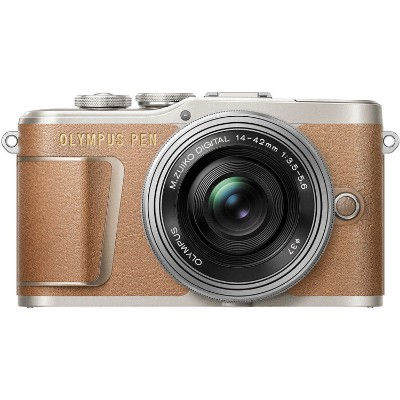 Olympus V205092NU010 E-PL9 Mirrorless Micro Four Thirds Digital Camera (Brown)