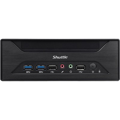 Shuttle XH110 XPC Slim Barebone XH110 - Supports Intel Core processors with socket LGA1151 and 2x SO-DIMM Slot with 204 pins - Supports Max 16GB per D