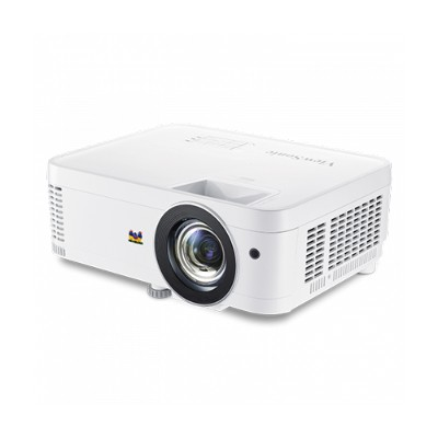 ViewSonic PX706HD 1080p Short Throw Home Theater and Gaming PX706HD - DLP projector - 3D - 3000 ANSI lumens - Full HD (1920 x 1080) - 16:9 - 1080p