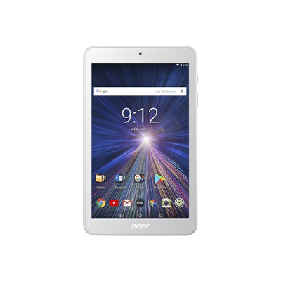 Acer NT.LERAA.002 ICONIA ONE 8 B1-870-K7MZ - Tablet - Android 7.0 (Nougat) - 16 GB eMMC - 8 IPS (1280 x 800) - USB host - microSD slot - white