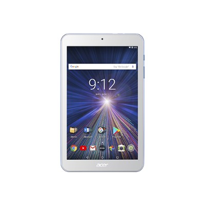 Acer NT.LEUAA.002 ICONIA ONE 8 B1-870-K028 - Tablet - Android 7.0 (Nougat) - 16 GB eMMC - 8 IPS (1280 x 800) - USB host - microSD slot - white  blue