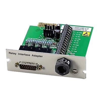 Eaton Corporation 1014018 Relay Interface Card - Remote management adapter - BestDock slot - RS-232 - for  9120  9170  9170+  9170+ 12-slot  9170+ 3-slot  9170+