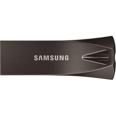 Samsung MUF-32BE4/AM 32GB USB 3.1 Flash Drive BAR Plus Titan Gray