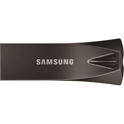 Samsung MUF-64BE4/AM 64GB USB 3.1 Flash Drive BAR Plus - Titan Gray