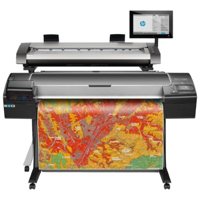 HP Inc. 2QX51A#B1K DesignJet HD Pro MFP - 44 multifunction printer - color - ink-jet - Roll (42.01 in) (original) - Roll (44 in x 300 ft)  44 in x 66