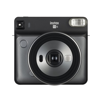 Fujifilm 16581472 Instax SQUARE SQ6 - Instant camera - lens: 65.75 mm graphite gray