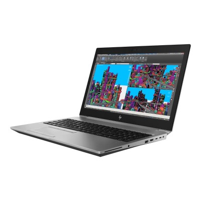 HP Inc. 4RA10UT#ABA ZBook 15 G5 Mobile Workstation - Xeon E-2176M / 2.7 GHz - Win 10 Pro 64-bit - 16 GB RAM - 512 GB SSD NVMe  TLC - 15.6 IPS 1920 x 1
