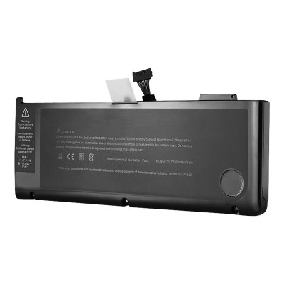 eReplacements A1382-ER Notebook battery (equivalent to: Apple A1382) - 1 x lithium ion 7200 mAh - for Apple MacBook Pro 15.4 (Early 2011  Late 2011  M