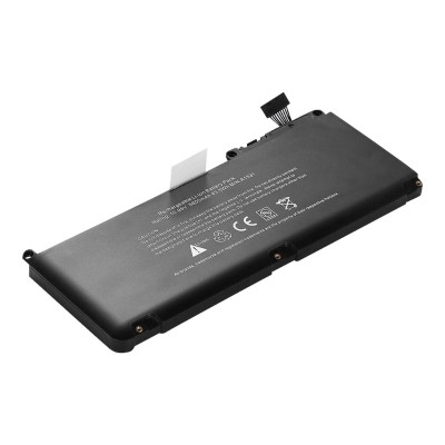 eReplacements A1331-ER Notebook battery (equivalent to: Apple A1331) - 1 x lithium ion 6000 mAh - for Apple MacBook (Late 2009  Mid 2010)