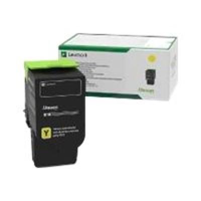 Lexmark 78C1UY0 Ultra High Yield - yellow - original - toner cartridge LCCP  LRP - for  CS521dn  CS622de  CX622ade  CX625ade  CX625adhe