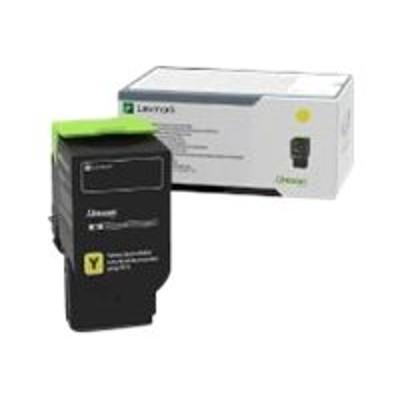 Lexmark 78C0U40 Ultra High Yield - yellow - original - toner cartridge LCCP - for  CS521dn  CS622de  CX622ade  CX625ade  CX625adhe