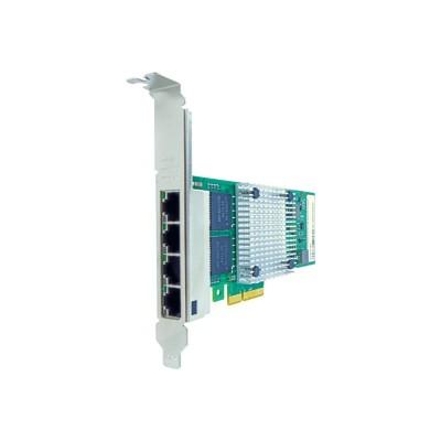 Axiom Memory N2XX-ABPCI03-M3-AX Network adapter - PCIe 2.1 x4 - Gigabit Ethernet x 4 - for Cisco UCS C220 M3  C240 M3