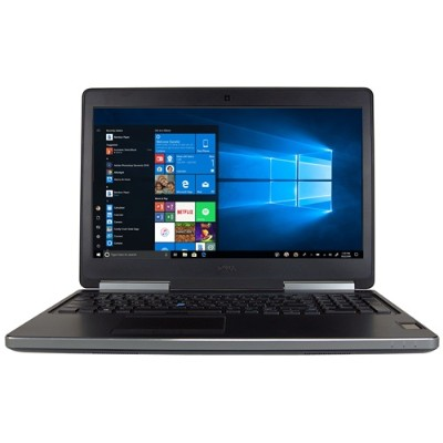 Dell PC5-1367-REF Precision 7510 Intel Core i7-6820HQ Quad-Core 2.70GHz Mobile Workstation - 16GB RAM  512GB SSD  15.6 FHD (1920x1080) Display  NVIDIA