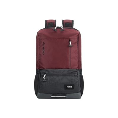 SOLO VAR701-60 Varsity Collection Draft Backpack - Notebook carrying backpack - 15.6 - burgundy