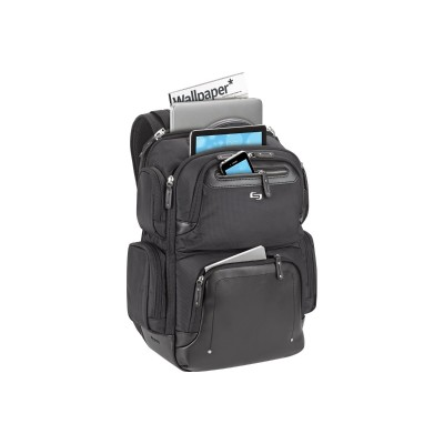 SOLO EXE750-4 Gramercy Collection LEXINGTON - Notebook carrying backpack - 15.6 - black