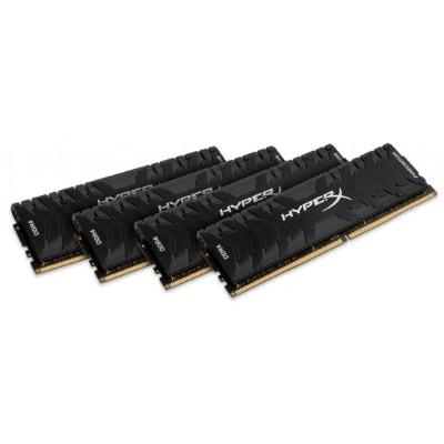 Kingston HX436C17PB3K4/64 64GB HyperX Predator DDR4 SDRAM Memory Module - 64GB (4 x 16 GB)  DDR4 SDRAM  3600 MHz DDR4-3600/PC4-28800  1.35 V  Non-ECC