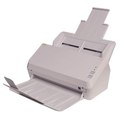 Fujitsu CG01000-292001 ScanZen Eko+ Powered Scanner w/ Neat Premium Software - 600dpi  30ppm  Multi-Feed Detection  Double-Sided Scanner