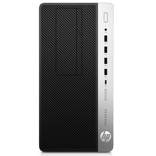 HP Inc. 2NX34US#ABA ProDesk 600 G3 Intel Core i3-7100 Dual-Core 3.90GHz Microtower PC - 4GB RAM 500GB HDD DVD-Writer Intel HD...