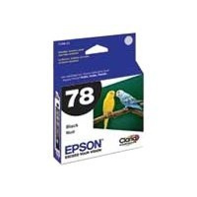 Epson T078120-S 78 - Black - original - ink cartridge - for Artisan 50  Stylus Photo R260  R380  RX580
