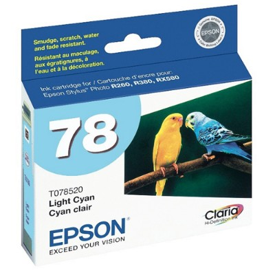 Epson T078520-S 78 - Light cyan - original - ink cartridge - for Artisan 50  Stylus Photo R260  R380  RX580