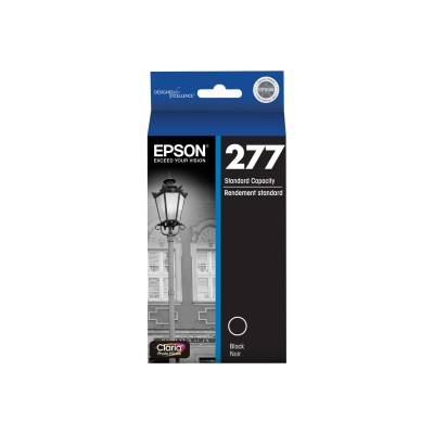 Epson T277120-S 277 With Sensor - Dye-based black - original - ink cartridge - for Expression Photo XP-850  8500  8505  860  950  960  Expression Prem