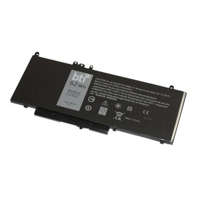 Battery Technology inc 6MT4T-BTI 6MT4T- - Notebook battery (equivalent to: Dell 451-BBTW  Dell 0C1P4  Dell 7V69Y  Dell 451-BBUN  Dell 451-BBUQ  Dell 5