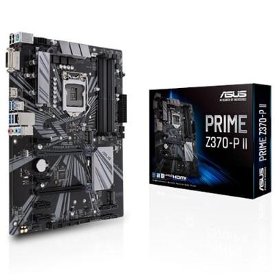 ASUS PRIME Z370-P II PRIME Z370-P II - Motherboard - ATX - LGA1151 Socket - Z370 - USB 3.1 Gen 1 - Gigabit LAN - onboard graphics (CPU required) - HD