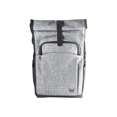 Acer NP.BAG1A.292 Predator Rolltop JR. - Notebook carrying backpack - 15.6 - gray  black