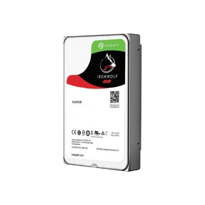 Seagate ST12000VN0008 IronWolf ST12000VN0008 - Hard drive - 12 TB - internal - 3.5 - SATA 6Gb/s - 7200 rpm - buffer: 256 MB