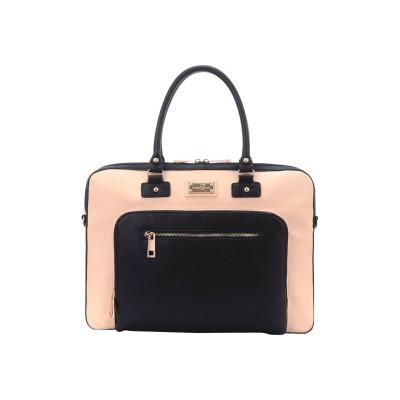 Sandy Lisa SLLDN-CRBK-14 London - Notebook carrying case - 15.6 - black  cream