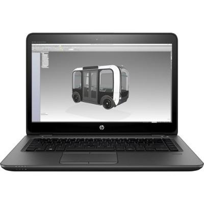 HP Inc. 2LM55UT#ABA-OB ZBook 14u G4 Mobile Workstation - Intel Core i5-7200U Dual-Core 2.50GHz  4GB RAM  500GB 7200rpm SATA  14 diagonal HD SVA Anti-Glare 1366x