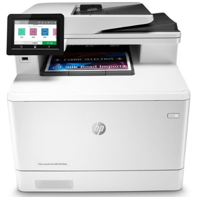 HP Inc. W1A79A#BGJ Color LaserJet Pro MFP M479fdn Multifunction Printer - Color - Laser - Legal (8.5 in x 14 in) (original) - A4/Legal (media) - up to