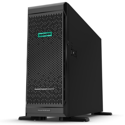 Hewlett Packard Enterprise P11053-001 ProLiant ML350 Gen10 Server - 4U Tower  2-way  1x Intel Xeon Gold 5218 16-Core 2.3GHz  22MB L3  32GB DDR4  No HD
