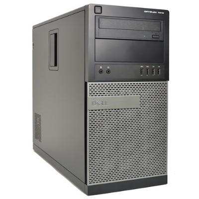 Dell PC1-3449 OptiPlex 7010 Intel Core i7-3770 Quad-Core 3.40GHz Mini Tower PC - 16GB RAM  1TB SSD  DVD+/-RW  Windows 10 Pro 64-bit - Grade A Refurbis