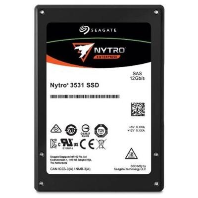 Seagate XS1600LE70004 1.6TB Nytro 3531 SSD - 12Gb/s SAS Dual-port 2.5 3D eTLC NAND No Encryption 3 DWPD  5-Year Limited Warranty