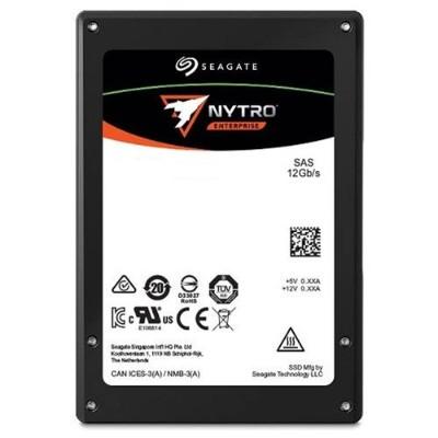 Seagate XS1600ME70004 1.6TB Nytro 3731 SSD - 12Gb/s SAS Dual-port 2.5 3D eTLC NAND No Encryption 10 DWPD  5-Year Limited Warranty