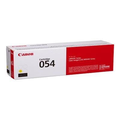 Canon 3021C001 054 - Yellow - original - toner cartridge - for ImageCLASS LBP622  MF641  MF644  i-SENSYS LBP623  MF641  MF643  MF645  Satera LBP622