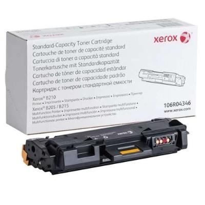 Xerox 106R04346 Standard Capacity Black Toner Cartridge - 1500 Pages  Compatible with Xerox B215  Xerox B205  Xerox B210 Printer
