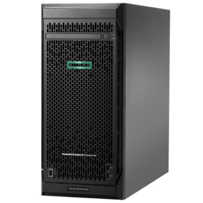 Hewlett Packard Enterprise P10813-001 ProLiant ML110 Gen10 Server - 4.5U Tower  1x Intel Xeon Silver 4210 10-Core 2.20GHz  11MB L3  16GB DDR4  8 SFF D