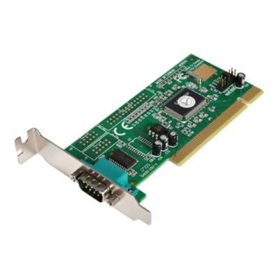 StarTech.com PCI1S550_LP 1 Port PCI Low Profile RS232 Serial Adapter Card with 16550 UART Serial adapter PCI low profile RS 232