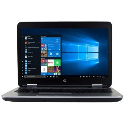 HP Inc. PC5-2245 ProBook 640 G2 Intel Core i5-6300U Dual-Core 2.40GHz Notebook PC - 8GB RAM  128GB SSD  14 HD (1366x768) Display  No ODD  Windows 10 P