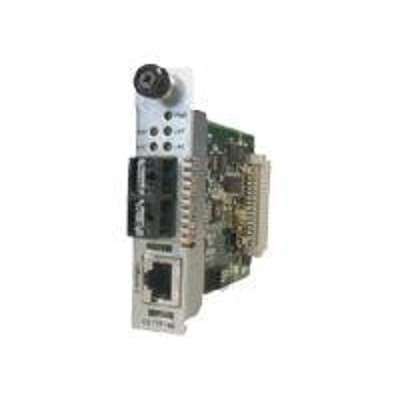 Transition Cettf1011-105 Fiber Media Converter - 10base-t  10base-fl - Rj-45 / St Multi-mode - Up To 1.2 Miles - 850 Nm