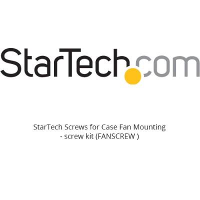 StarTech.com FANSCREW Screws for Case Fan Mounting (Pkg. of 50)