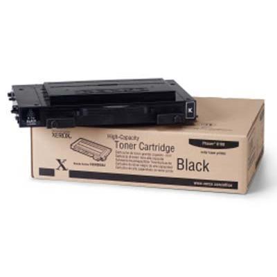 Xerox 106R00684 Black High-Capacity Toner Cartridge for Phaser 6100
