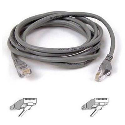 Belkin A3L791-100-S Cat 5 Snagless Patch Cable 100' Gray