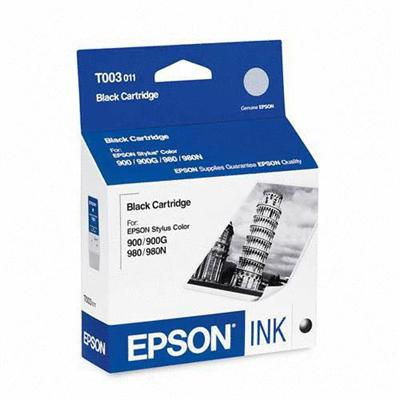 Epson T003011 Black - original - ink cartridge - for Stylus Color 900  900G  900N  980  980N