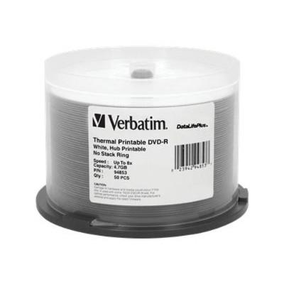 Verbatim 94853 DataLifePlus DVD-R x 50 - 4.7 GB - storage media