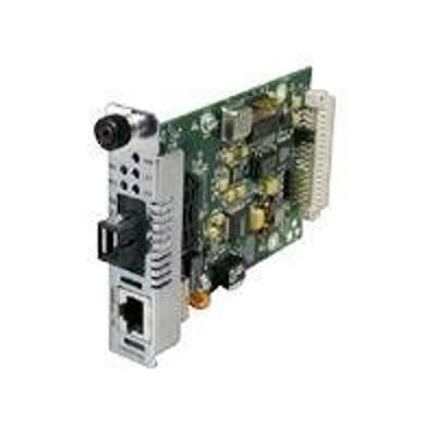 Transition CFETF1029-205 Fast Ethernet Media Converter - Media converter - 100Mb LAN - 100Base-FX  100Base-TX - up to 12.4 miles - 1310 nm