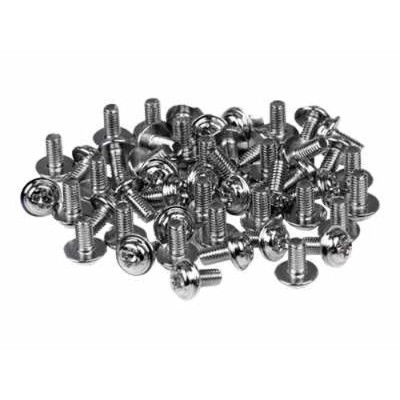StarTech.com SCREWM3 PC Mounting Computer Screws M3 x 1/4in Long Standoff - Screw kit - 0.2 in (pack of 50)