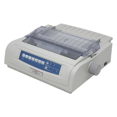 Oki 62418703 MICROLINE 420n 9-Pin Monochrome Dot Matrix Printer
